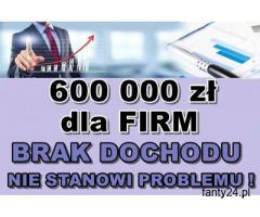 MASZ NISKI DOCHÓD Z PIT-u i KPiR ?! KREDYT DLA FIRM – 600 000 PLN